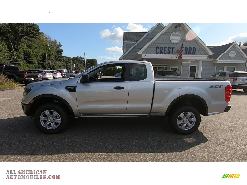 2019 Ranger STX SuperCab 4x4 - Ingot Silver Metallic / Ebony photo #4