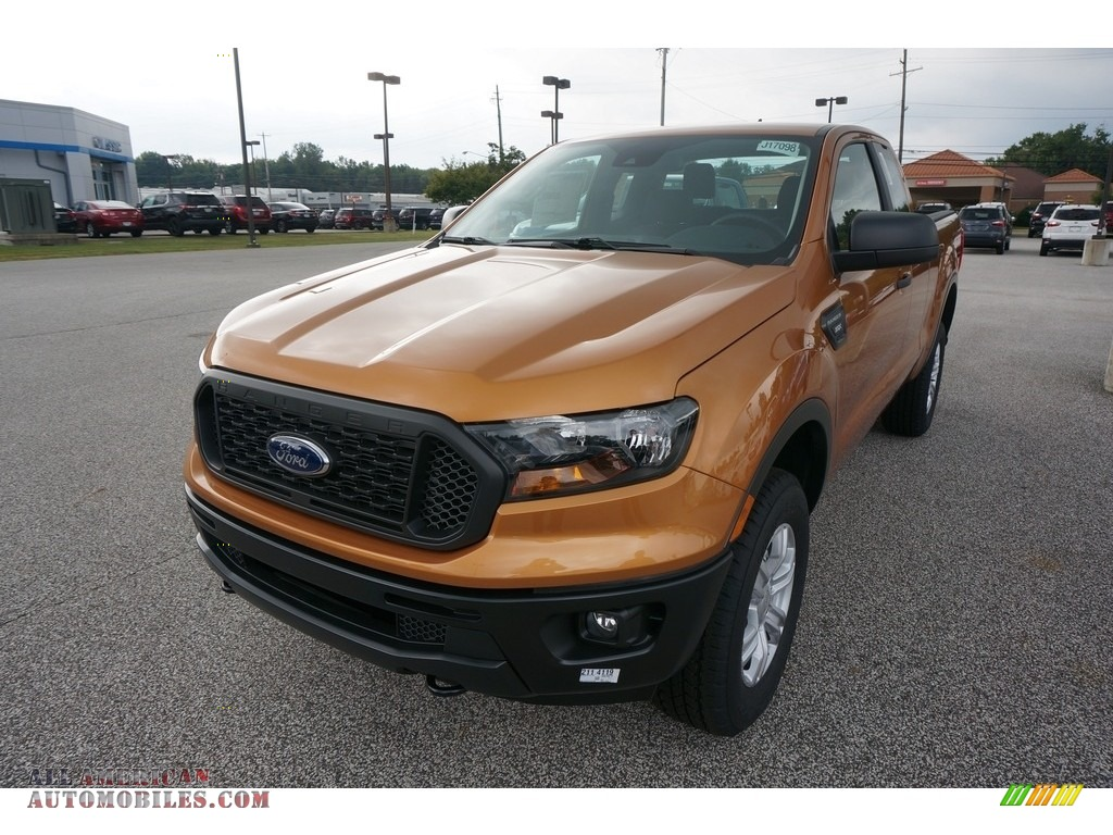 2019 Ranger STX SuperCab 4x4 - Saber Metallic / Ebony photo #1