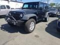 Jeep Wrangler Unlimited Sport 4x4 Black photo #2