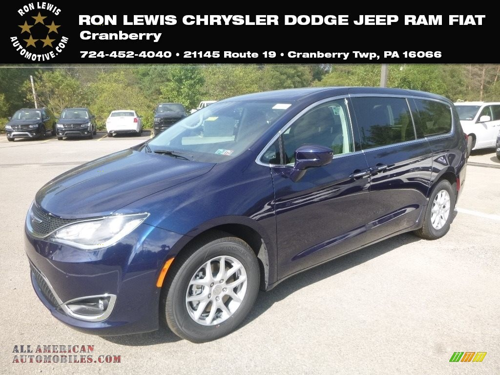 2020 Pacifica Touring - Jazz Blue Pearl / Alloy/Black photo #1