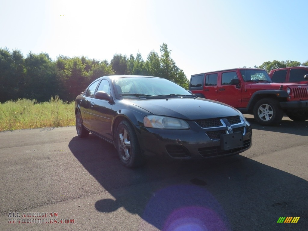 2005 Stratus SXT Sedan - Brilliant Black / Dark Slate Gray photo #1