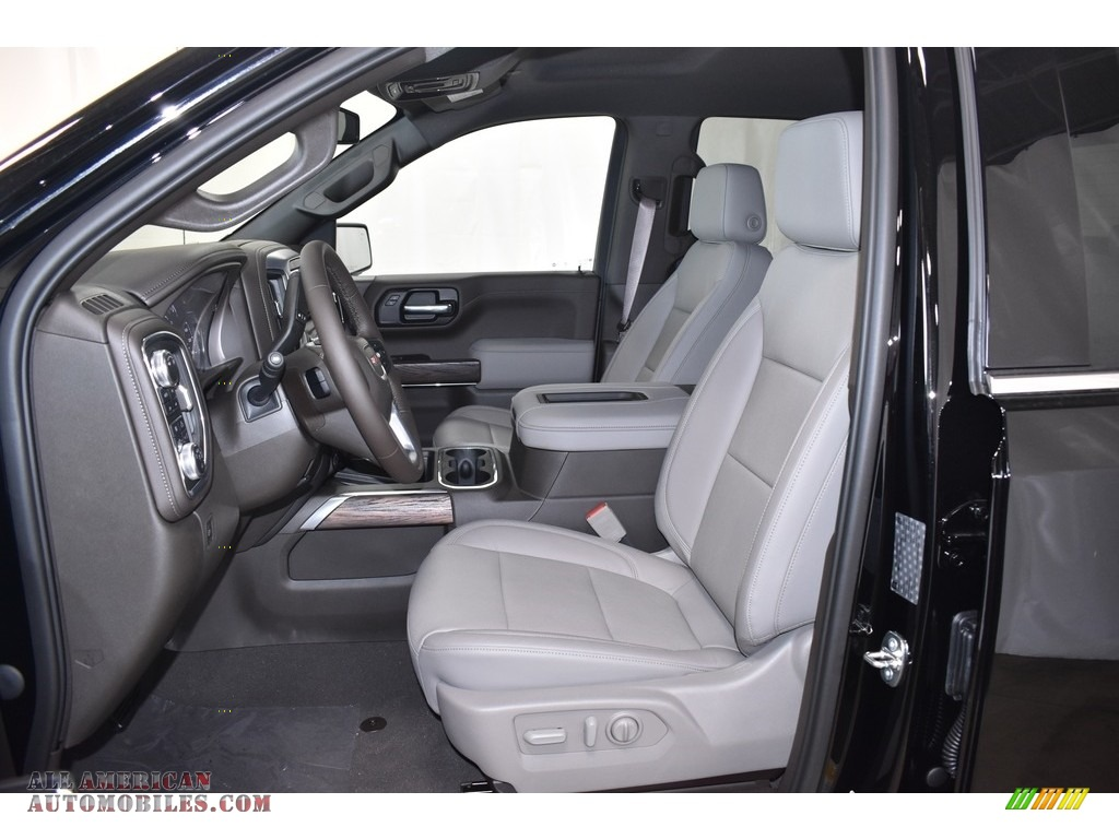 2019 Sierra 1500 SLT Crew Cab 4WD - Onyx Black / Dark Walnut/­Slate photo #6