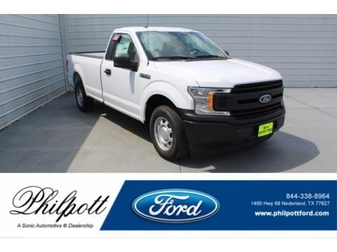 Oxford White 2019 Ford F150 XL Regular Cab