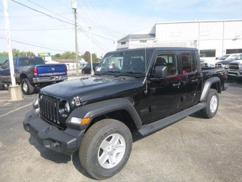 Black 2020 Jeep Gladiator Sport 4x4