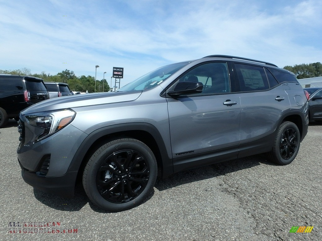 2020 Terrain SLE AWD - Satin Steel Metallic / Jet Black photo #1