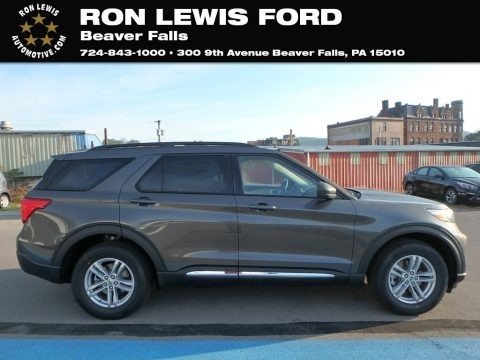 Magnetic Metallic 2020 Ford Explorer XLT 4WD