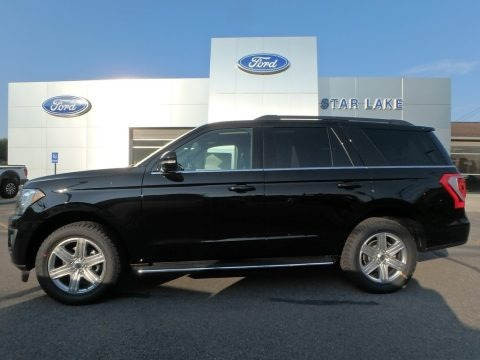 Agate Black Metallic 2019 Ford Expedition XLT 4x4