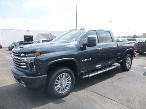 Shadow Gray Metallic 2020 Chevrolet Silverado 2500HD High Country Crew Cab 4x4