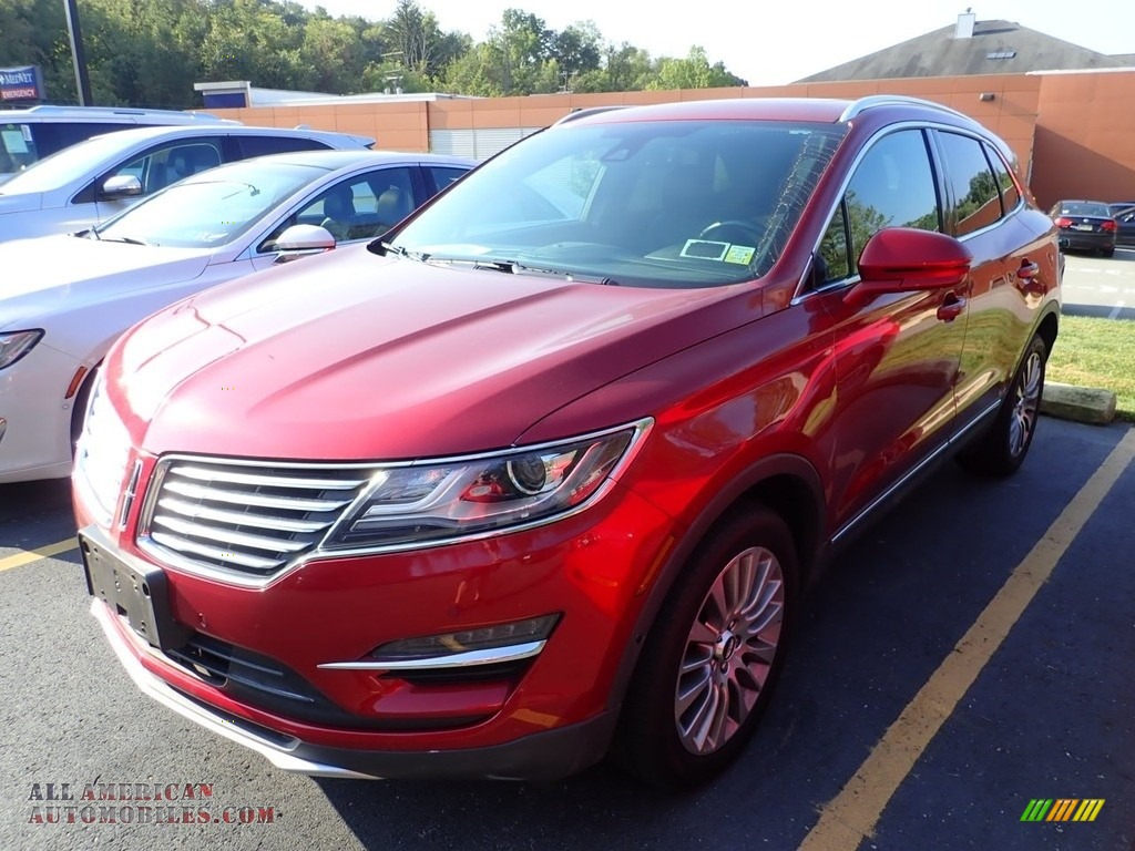 Ruby Red / Ebony Lincoln MKC Reserve AWD