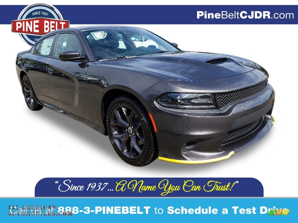 2019 Charger GT - Granite Pearl / Black photo #1