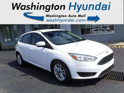Oxford White 2018 Ford Focus SE Hatch