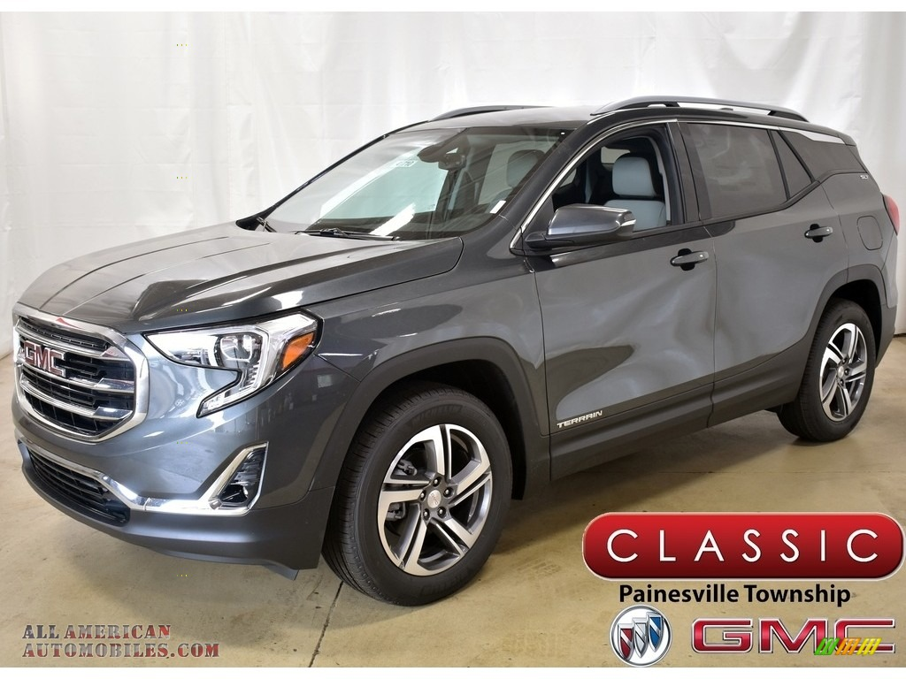 2020 Terrain SLT AWD - Graphite Gray Metallic / Medium Ash Gray/Jet Black photo #1