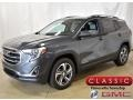 GMC Terrain SLT AWD Graphite Gray Metallic photo #1