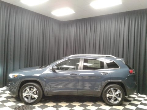 Blue Shade Pearl 2020 Jeep Cherokee Limited 4x4