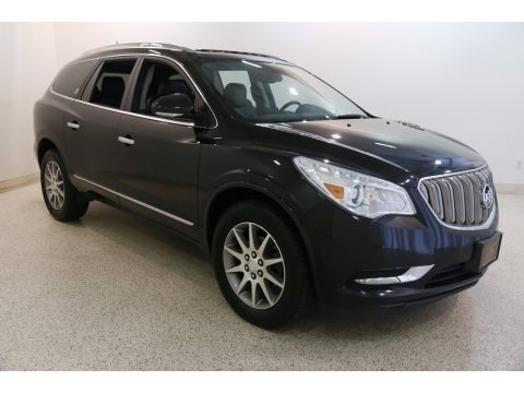 Carbon Black Metallic 2015 Buick Enclave Leather