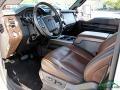 Ford F350 Super Duty King Ranch Crew Cab 4x4 White Platinum Tri-Coat photo #29