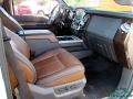 Ford F350 Super Duty King Ranch Crew Cab 4x4 White Platinum Tri-Coat photo #30