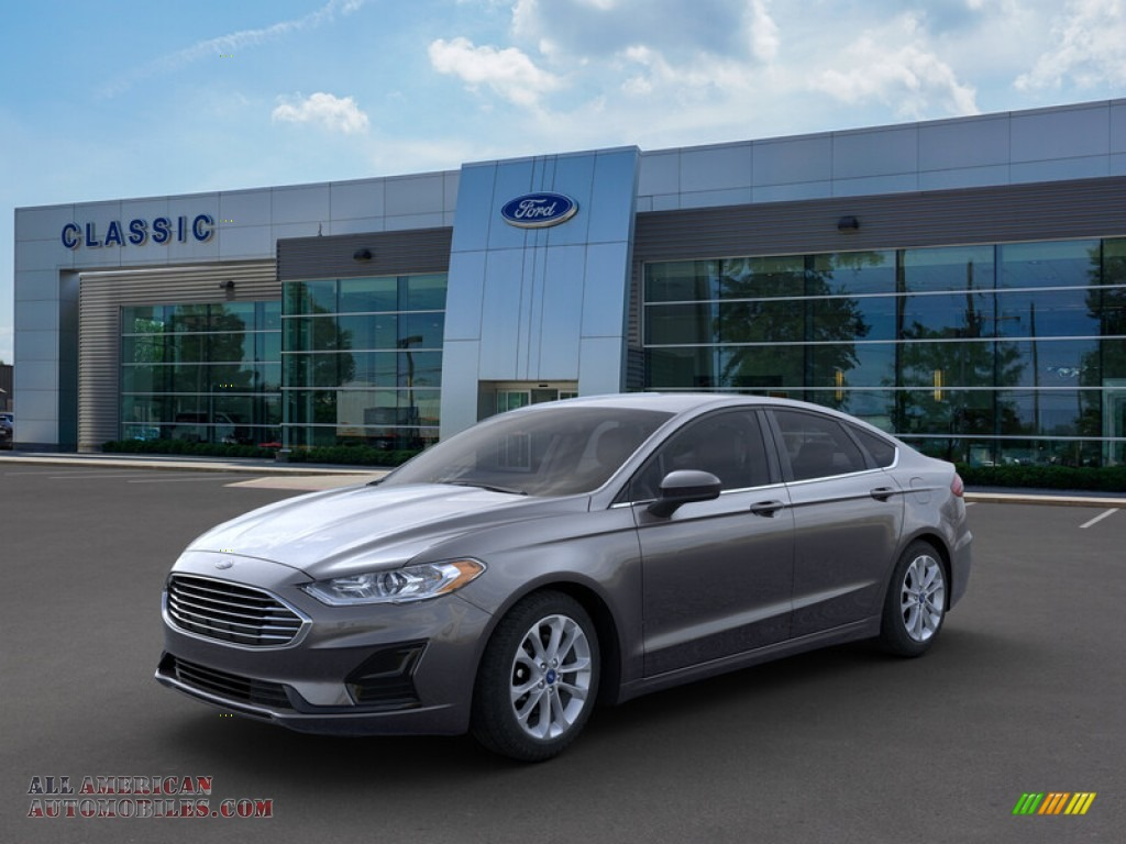 2019 Fusion SE - Magnetic / Ebony photo #1