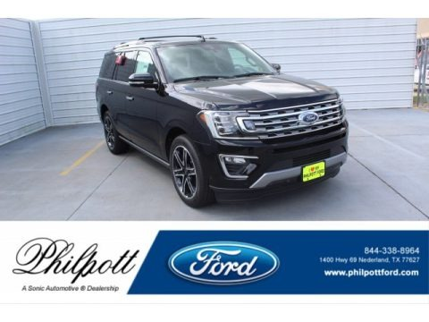 Agate Black Metallic 2019 Ford Expedition Limited