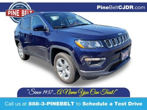 Jazz Blue Pearl 2020 Jeep Compass Latitude 4x4