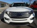 Ford Explorer Limited 4WD Star White Metallic Tri-Coat photo #2