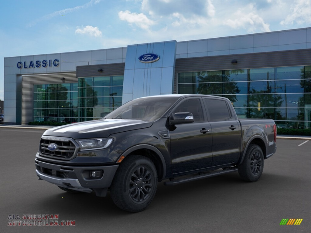2019 Ranger Lariat SuperCrew 4x4 - Shadow Black / Ebony photo #1