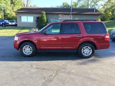 Ruby Red 2013 Ford Expedition XLT 4x4