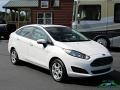 Ford Fiesta SE Sedan Oxford White photo #7