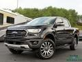 Ford Ranger Lariat SuperCrew 4x4 Shadow Black photo #1