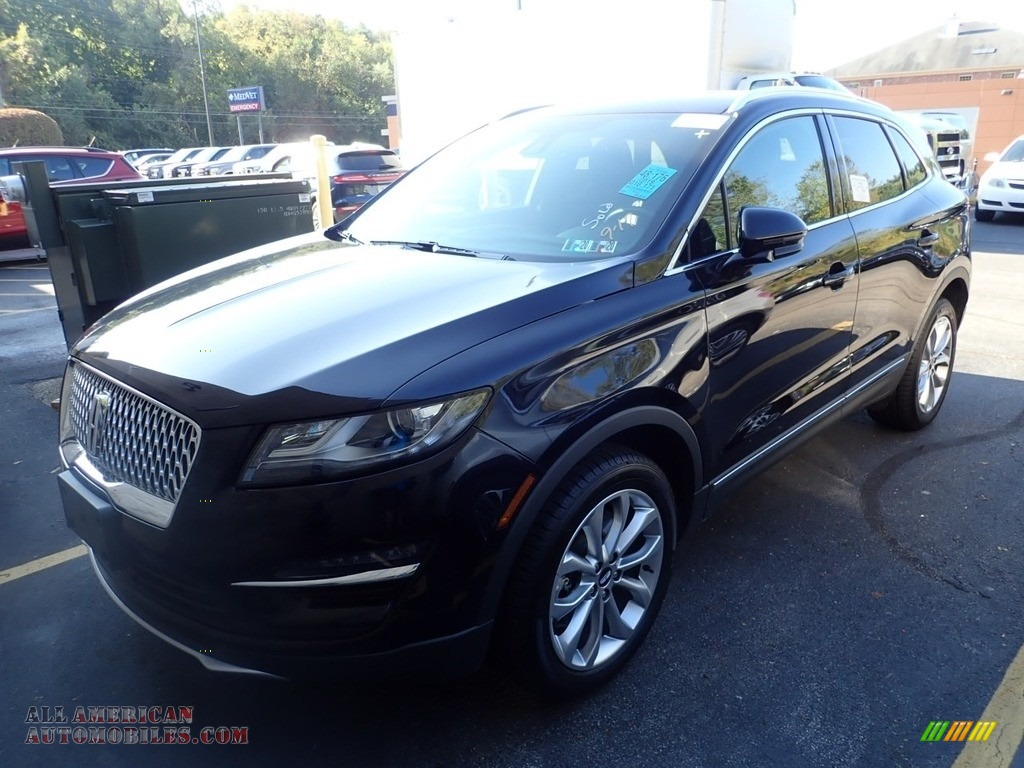 Infinite Black Metallic / Ebony Lincoln MKC Select AWD