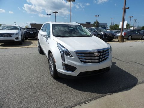 Crystal White Tricoat 2019 Cadillac XT5 Luxury AWD