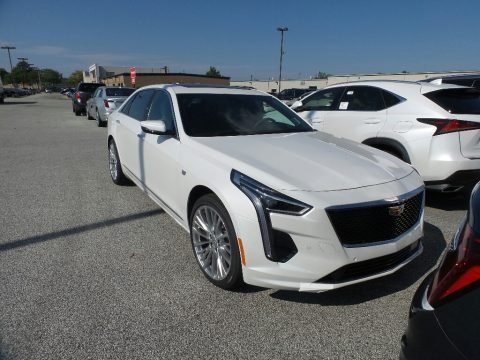 Crystal White Tricoat 2020 Cadillac CT6 Luxury AWD