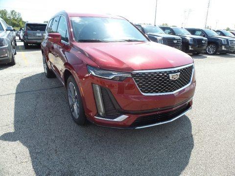 Red Horizon Tintcoat 2020 Cadillac XT6 Premium Luxury AWD