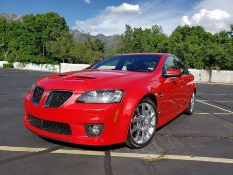 Liquid Red 2009 Pontiac G8 GXP