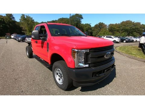 Race Red 2019 Ford F350 Super Duty XL SuperCab 4x4