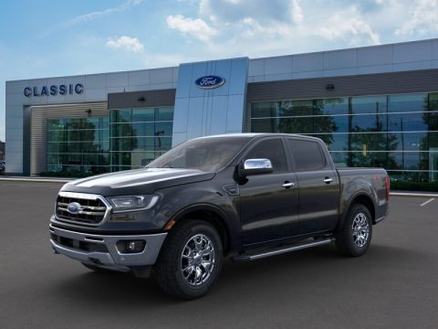 Shadow Black 2019 Ford Ranger Lariat SuperCrew 4x4