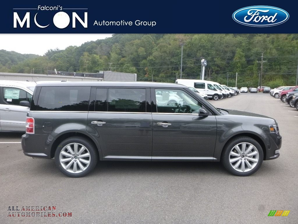 Magnetic / Charcoal Black Ford Flex SEL AWD