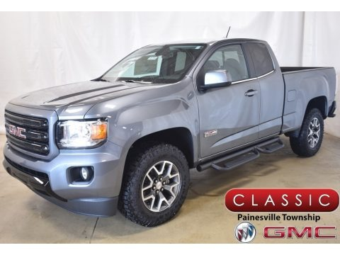 Satin Steel Metallic 2020 GMC Canyon All Terrain Extended Cab 4WD