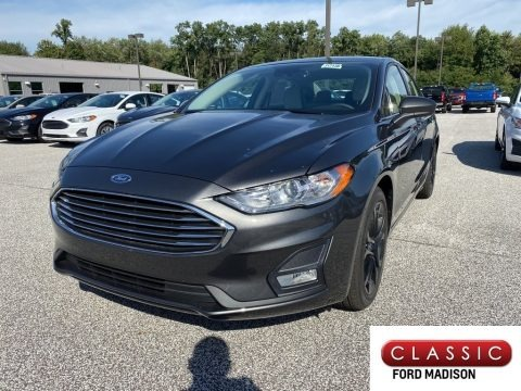 Magnetic Metallic 2020 Ford Fusion SE