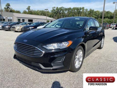 Agate Black 2020 Ford Fusion SE