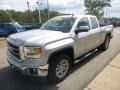 GMC Sierra 1500 SLE Double Cab 4x4 Quicksilver Metallic photo #5