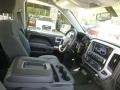 GMC Sierra 1500 SLE Double Cab 4x4 Quicksilver Metallic photo #12