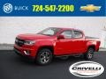 Chevrolet Colorado Z71 Crew Cab 4x4 Red Hot photo #1