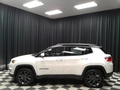 Pearl White Tri-Coat 2020 Jeep Compass High Altitude 4x4