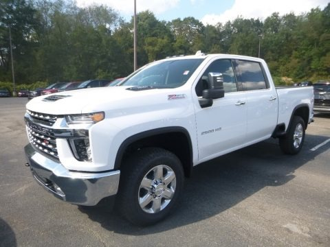 Summit White 2020 Chevrolet Silverado 2500HD LTZ Crew Cab 4x4
