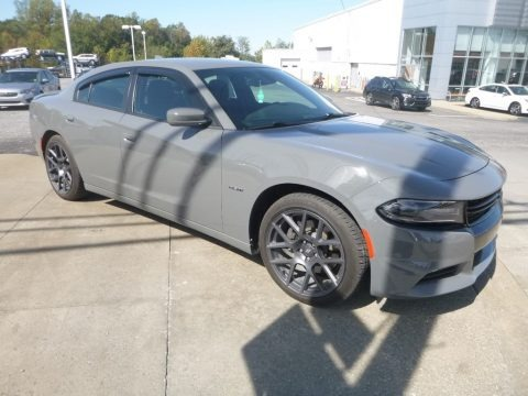 Destroyer Gray 2018 Dodge Charger R/T