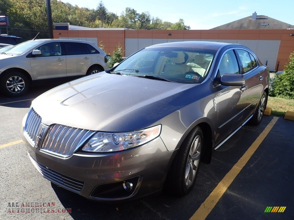 2011 MKS AWD - Sterling Gray Metallic / Cashmere photo #1