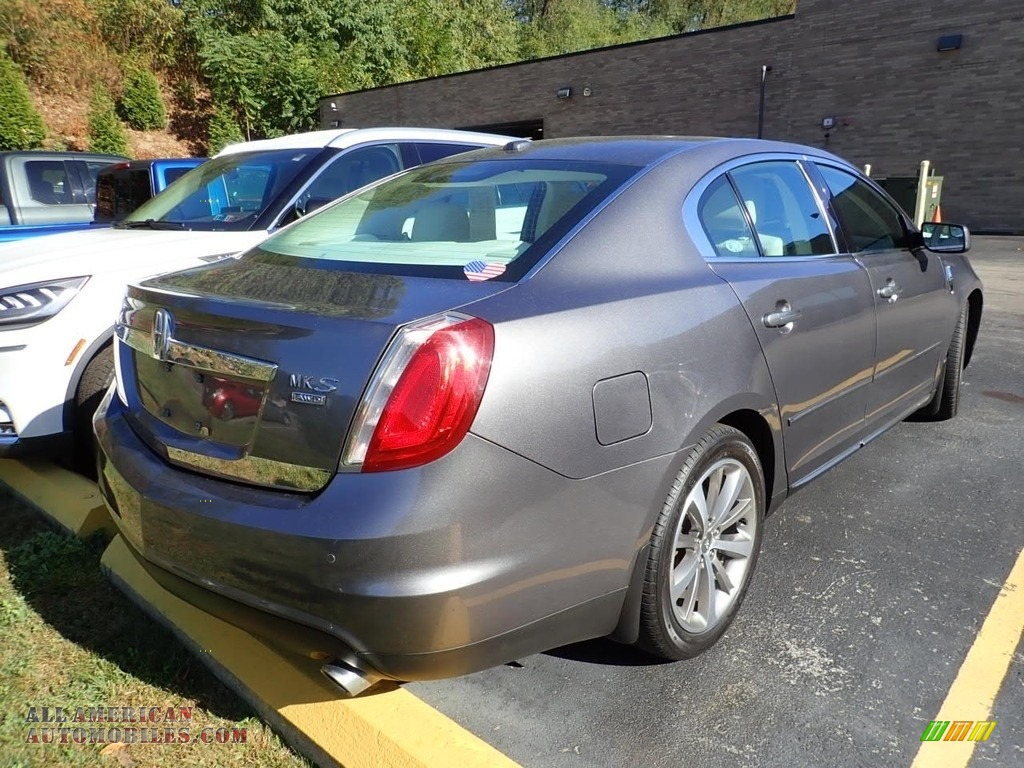 2011 MKS AWD - Sterling Gray Metallic / Cashmere photo #4