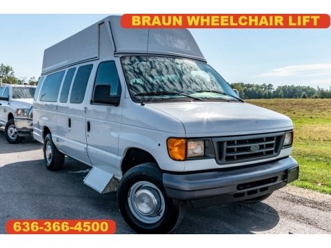 Oxford White 2006 Ford E Series Van E350 Commercial Extended