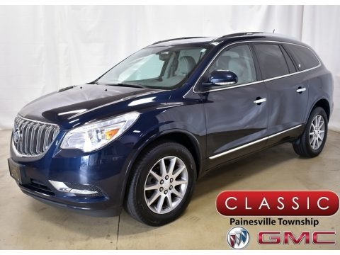 Dark Sapphire Blue Metallic 2015 Buick Enclave Leather